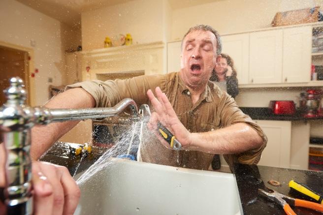 DIY plumber